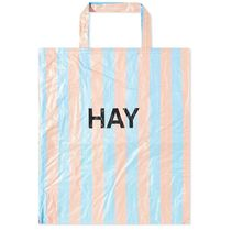 HAY Stripes Street Style Bi-color Shoppers