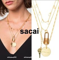sacai Casual Style Chain Party Style Brass Necklaces & Pendants