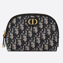 Christian Dior Logo Pouches & Cosmetic Bags