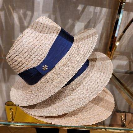 Tory Burch Street Style Straw Boaters Straw Hats