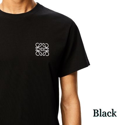 LOEWE Crew Neck Anagram Embroidered T-Shirt In Cotton 2