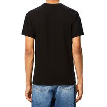 LOEWE Crew Neck Anagram Embroidered T-Shirt In Cotton 4