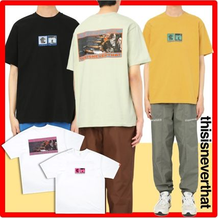 thisisneverthat More T-Shirts Unisex Street Style Cotton Short Sleeves T-Shirts