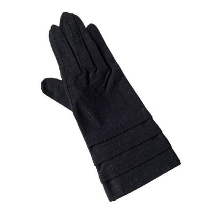 Chloe Plain Cotton Gloves Gloves