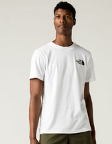 THE NORTH FACE Crew Neck Crew Neck Street Style Cotton Short Sleeves Logo Outdoor 5