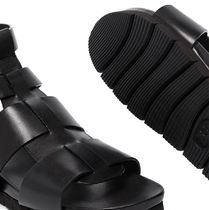 Grenson Rubber Sole Casual Style Leather Party Style Sandals