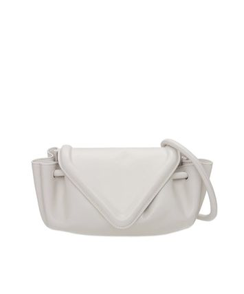 BOTTEGA VENETA Plain Leather Shoulder Bags