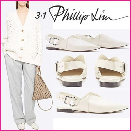 3.1 Phillip Lim Casual Style Plain Leather Party Style Office Style