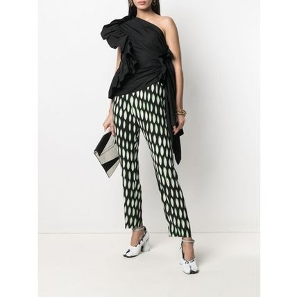 Dries Van Noten Casual Style Long Elegant Style Cropped & Capris Pants