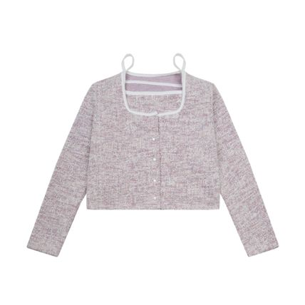 Short Casual Style Street Style Long Sleeves Cropped