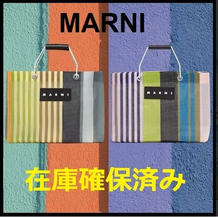 Stripes Casual Style Unisex A4 Office Style Elegant Style