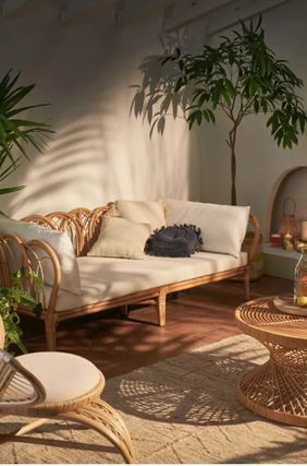 Urban Outfitters Rattan Furniture Bedding