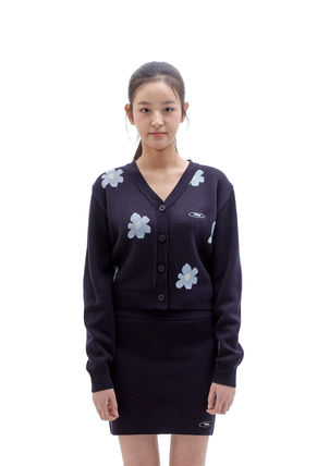 Short Flower Patterns Casual Style Street Style Long Sleeves