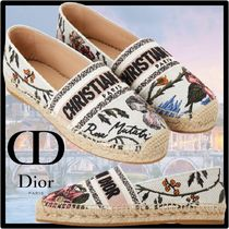 Christian Dior Casual Style Street Style Formal Style  Logo Flats