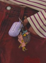 Mark Gonzales Unisex Street Style Logo Keychains & Bag Charms
