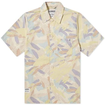 Front Button Button-down Camouflage Collaboration
