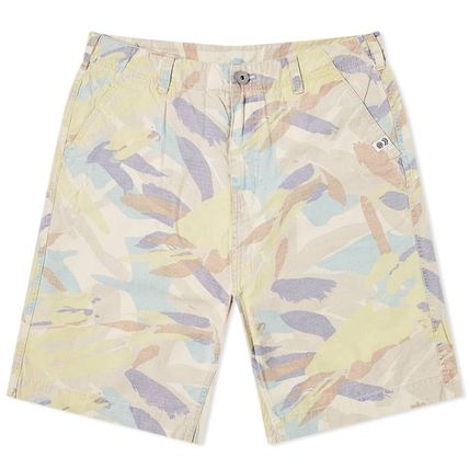 Camouflage Collaboration Cotton Shorts