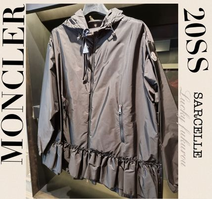 MONCLER SARCELLE Nylon Plain Medium Jackets