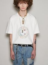 ANDERSSON BELL More T-Shirts Unisex Street Style Plain Cotton Short Sleeves Oversized 5