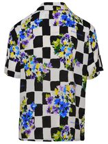 Off-White Shirts Other Plaid Patterns Flower Patterns Unisex Street Style 5