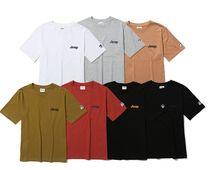 JEEP More T-Shirts Pullovers Unisex Studded Street Style U-Neck Plain Cotton 14