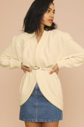 Rouje Casual Style Long Sleeves Plain Medium Party Style Angola