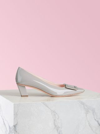 Roger Vivier Square Toe Casual Style Plain Party Style Office Style