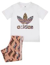 adidas Unisex Street Style Co-ord Baby Girl Tops