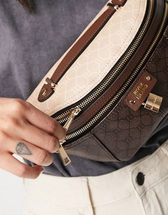 Monogram Casual Style Street Style 2WAY Crossbody Logo