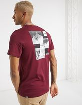 THE NORTH FACE Crew Neck Crew Neck Street Style Cotton Short Sleeves Logo Outdoor 14