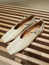 Jil Sander Rubber Sole Casual Style Blended Fabrics Leather