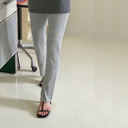 Casual Style Chiffon Street Style Plain Long Party Style