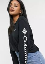 Columbia T-Shirts Street Style Long Sleeves Plain Long Sleeve T-shirt T-Shirts 5