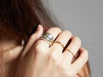 HANNA543 Casual Style Street Style Rings