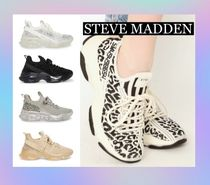 Steve Madden Casual Style Street Style Plain Logo Low-Top Sneakers