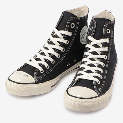 CONVERSE ALL STAR Casual Style Unisex Street Style Logo Low-Top Sneakers
