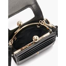 SIMONE PERELE Shoulder Bags Casual Style Street Style Plain Leather Party Style 8