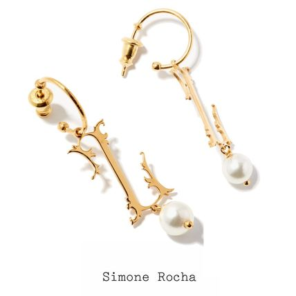 SIMONE PERELE Earrings Casual Style Initial Street Style Party Style Office Style