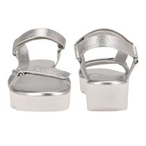 Nine West More Sandals Rubber Sole Casual Style Studded Street Style Leather 10