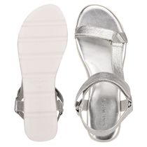 Nine West More Sandals Rubber Sole Casual Style Studded Street Style Leather 11