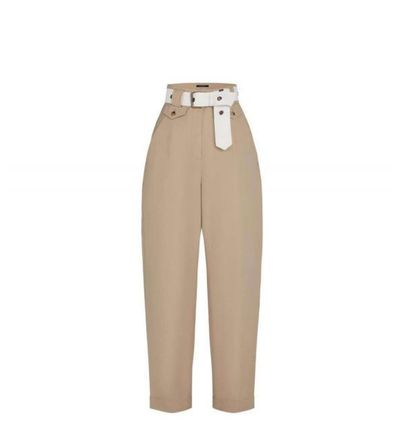 Louis Vuitton Casual Style Plain Sarouel Pants
