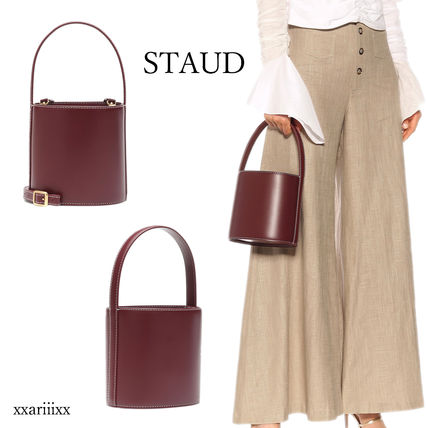 Casual Style Suede 2WAY Plain Leather Elegant Style