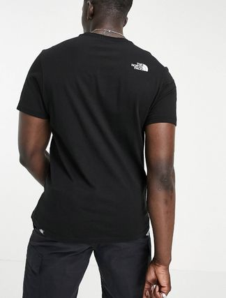 THE NORTH FACE More T-Shirts Unisex Street Style Plain Cotton Short Sleeves Logo Outdoor 3