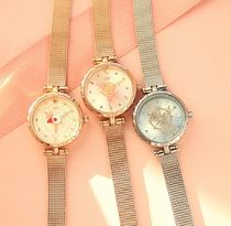 OST Casual Style Metal Party Style Jewelry Watches Silver