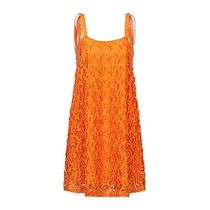 Just Cavalli Short Casual Style A-line Sleeveless Party Style Fringes