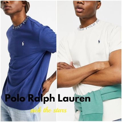 POLO RALPH LAUREN More T-Shirts Street Style Plain Short Sleeves Logo Surf Style T-Shirts