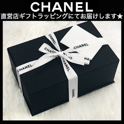 CHANEL Plain Party Style Elegant Style Logo Sandals
