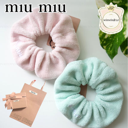 MiuMiu Elegant Style Hair Accessories