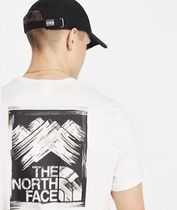 THE NORTH FACE Crew Neck Crew Neck Street Style Cotton Short Sleeves Logo Outdoor 7