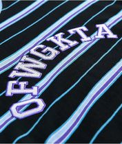 Odd Future Long Sleeve Crew Neck Pullovers Stripes Long Sleeves Cotton 4